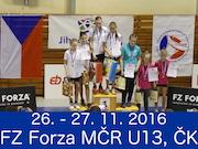 27.11.2016 MČR U13, ČK