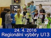 23. - 24. 4. 2016, 28. ROČNÍK REGIONÁLNÍCH VÝBĚRŮ U13 - O ČESKOKRUMLOVSKÝ POHÁR, Český Krumlov