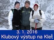 3.1.2016 - Klubový výlet na Kleť