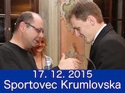17.12.2015 - Sportovec Českokrumlovska