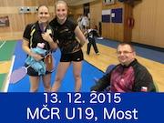 13.12.15 - MČR U19, MOST