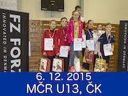 6.12.2015 - FORZA MČR U13, Český Krumlov