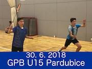 30.6.2018 - GPB U15, Pardubice