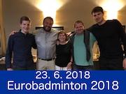 23.6.2018 - Eurobadminton 2018, Praha