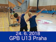 24.6.2018 - GPB U13, Praha