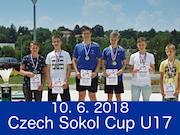 10.6.2018 - Czech Sokol Cup U17, Dobřany
