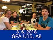 3.6.2018 - GPA U15, Aš