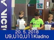 20.5.2018 - celostátní turnaj U9, U10, U11, Kladno