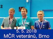 5.5.2018 - MČR veteránů, Brno