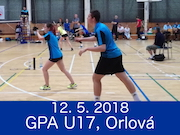 12.5.2018 - GPA U17, Orlová