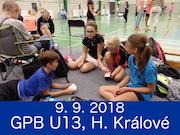 9.9.18  - GPB U13, Hradec Králové