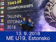 13.9.18 - ME U19, Estonsko