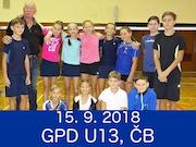 15.9.18 - GPD U13, České Budějovice