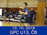 13.10.18 GPC U13, České Budějovice