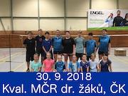 30.9.18 - Kvalifikace na MČR smíšených družstev žáků, Český Krumlov