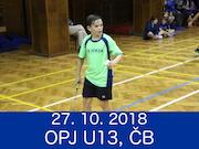 27.10.18 - OPJ U13, České Budějovice