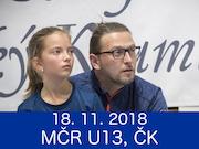 18.11.18 - MČR U13, Český Krumlov