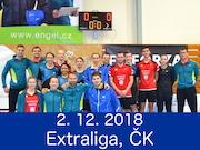 2.12.18 - Extraliga 2. kolo, Český Krumlov