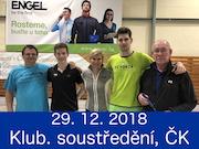 29.12.18 - Zimní klubové soustředění, Český Krumlov