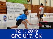 12.1.19 - GPC U17, Český Krumlov