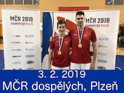 3.2.19 - MČR dospělých, Plzeň