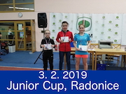 3.2.19 - Junior Cup, Radonice