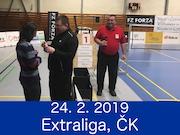 24.2.19 - Extraliga 4. kolo, Český Krumlov