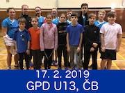 17.2.19 - GPD U13, České Budějovice