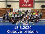 13.6.20 - Klubové přebory 2020