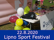 22.8.20 - Lipno Sport Festival 2020, Lipno nad Vltavou