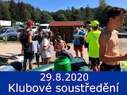 29.8.20 - Letní klubové soustředění, Český Krumlov