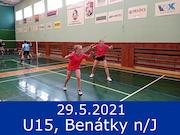 29.5.21 tréninkový turnaj U15, Benátky nad Jizerou