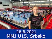 26.6.21 - MMJ U15, Srbsko