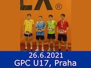 26.6.21 - GPC U17, Praha Hamr