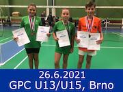 26.6.21 - GPC U13/U15, Brno