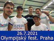 26.7.21 - Olympijský festival, Praha