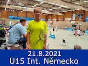 21.8.21 - U15 International, Německo
