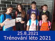 25.8.21 - Trénování léto 2021